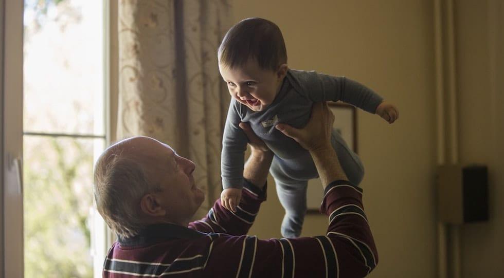 bunicul si nepotul