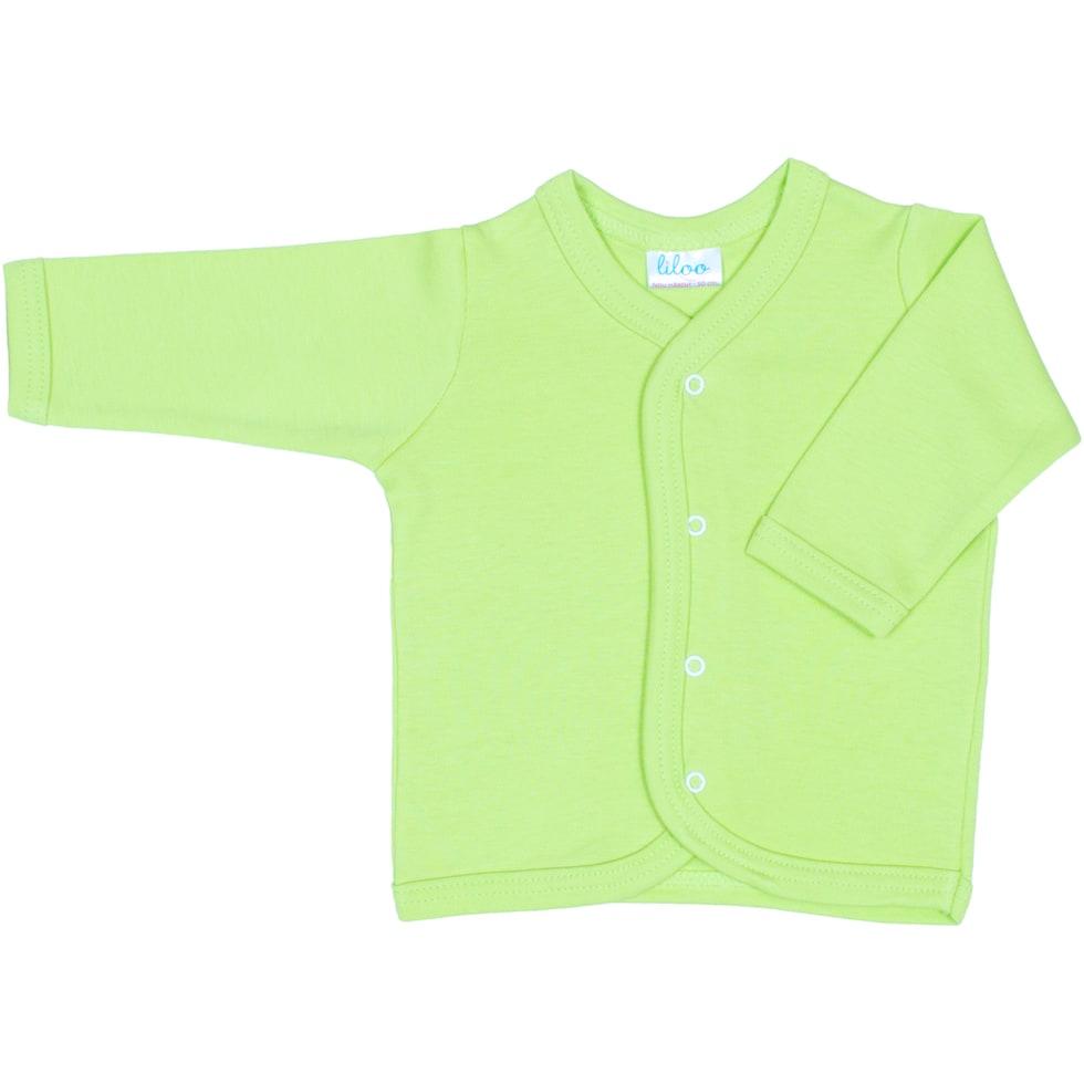 Bluzita verde pentru bebelusi