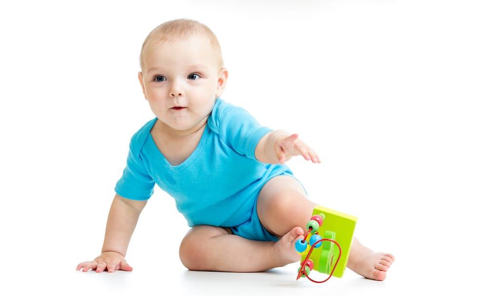 Bebe in body subtire cu maneca scurta bleu