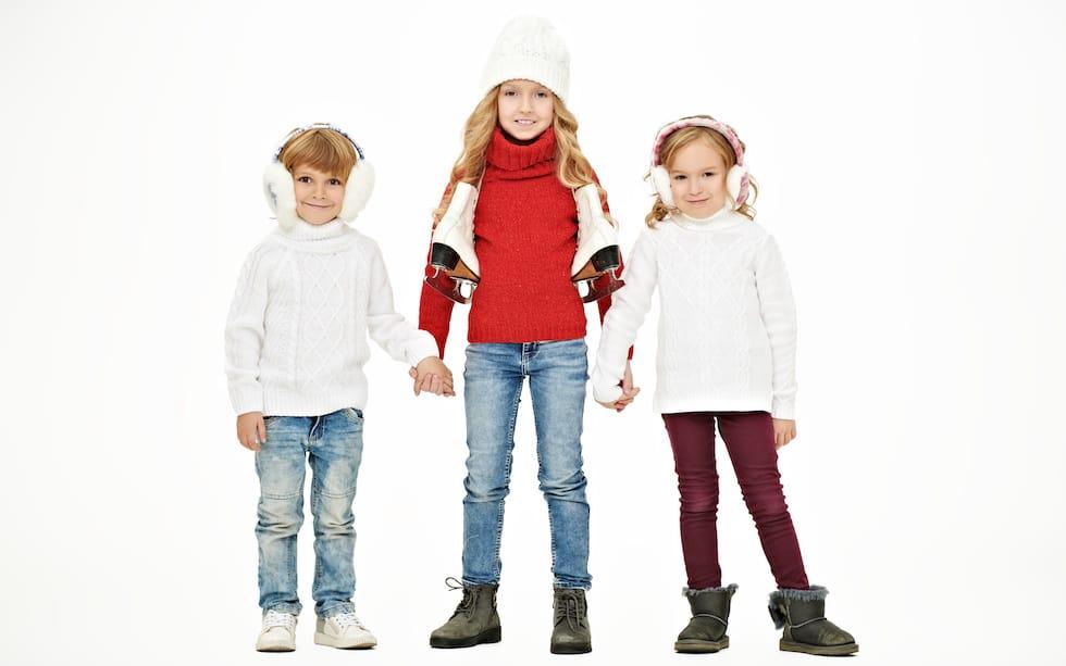 Garderoba de iarna la copii