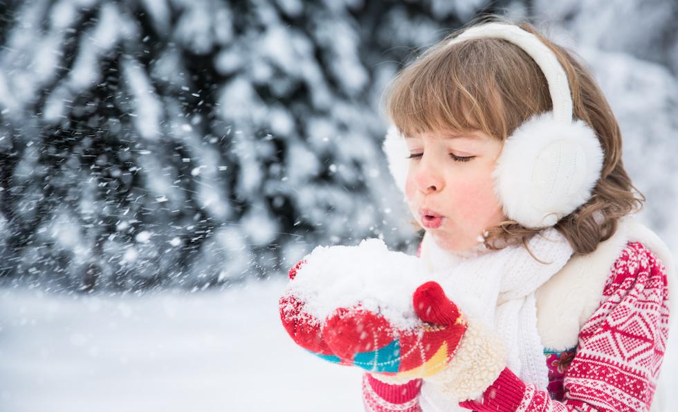 Haine copii pentru iarna si jucat in zapada