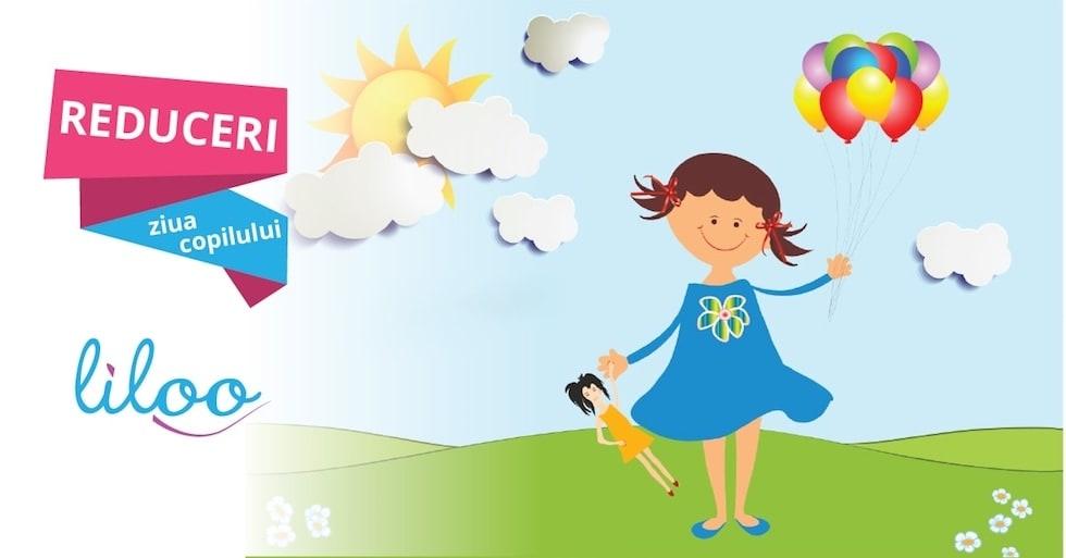 Promotie - reduceri de 1 Iunie - Ziua Copilului 2018